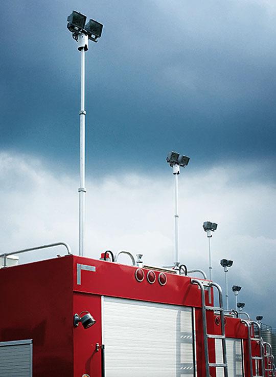 Ultralight Partner Masts