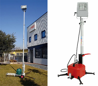 Portable Telescoping Mast and Lighting Solutions